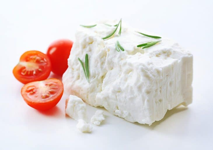 This image has an empty alt attribute; its file name is Feta-Cheese.jpg