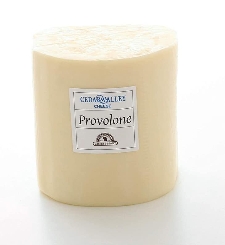 This image has an empty alt attribute; its file name is Provolone-Cheese.jpg